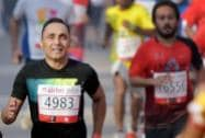 Bollywood actor Rahul Bose participates in Airtel Delhi Half Marathon