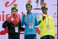 Winners of Airtel Delhi Half Marathon 2014