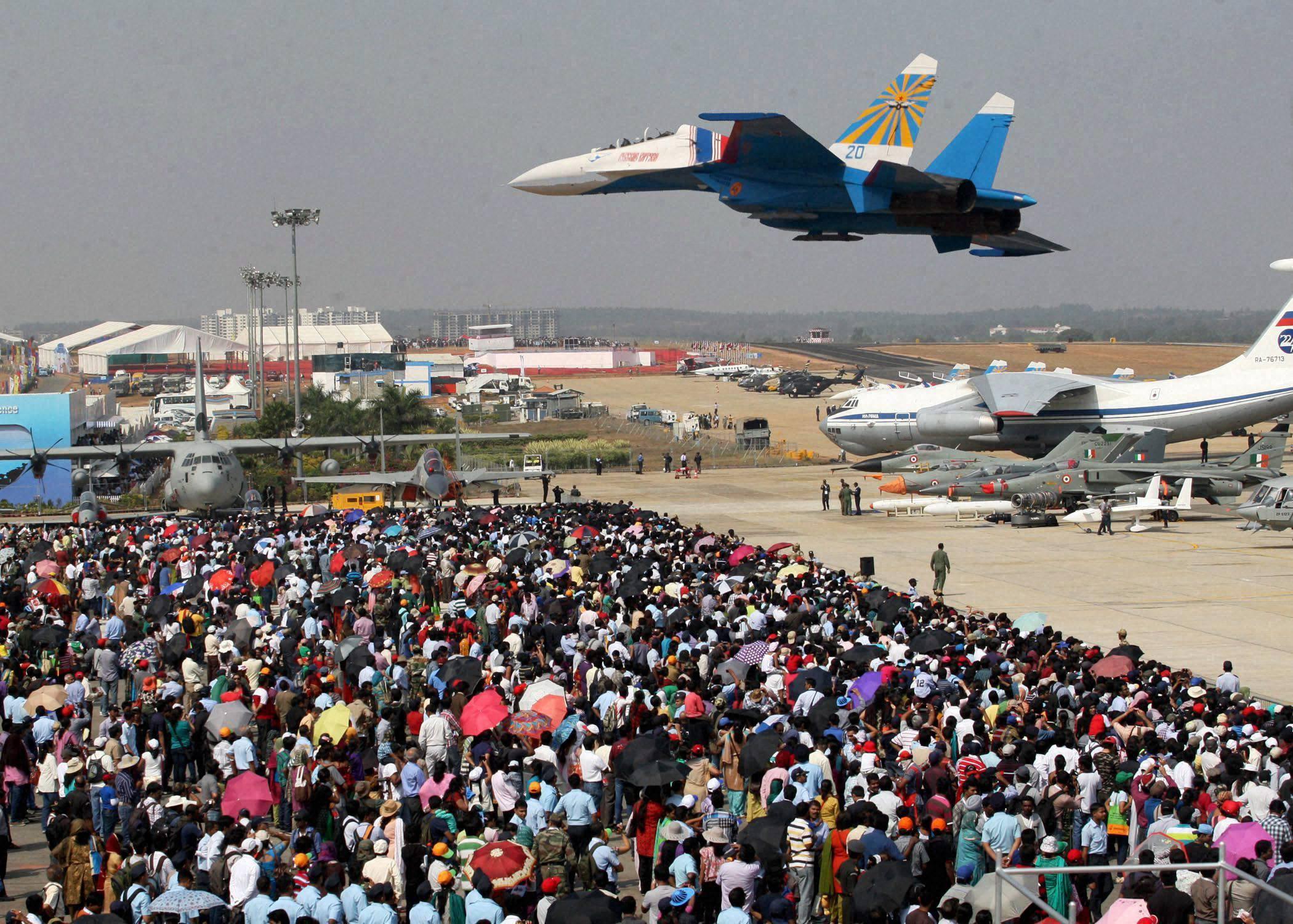 Aero India 2013, Bangalore, air show