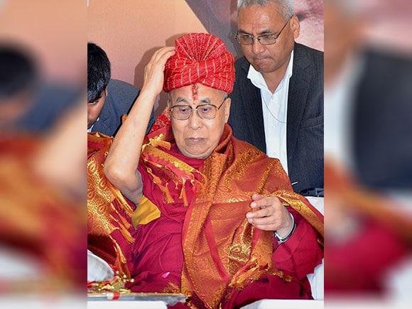 Dalai Lama, Tibetan spiritual leader, China, Ramanreti Ashram, Mathura