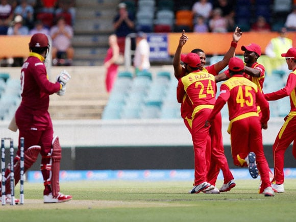 Tinashe Panyangara, Dwayne Smith, World cup,  West Indies, Canberra, Australia