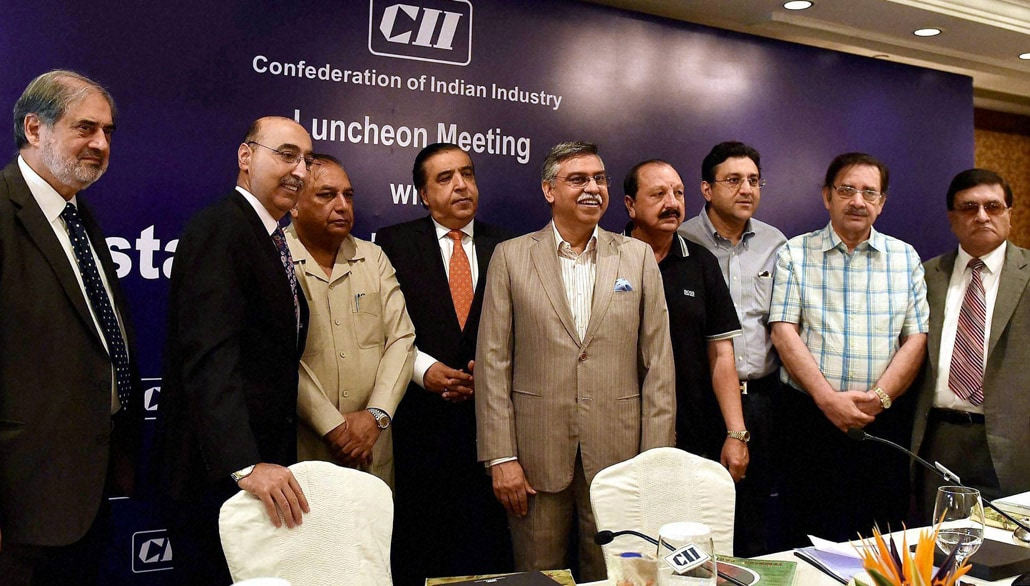 MD, Hero MotoCorp, Sunil Kant Munjal, business delegation, Pakistan, CII luncheon, meeting