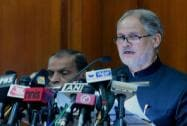 Lt. Governor of Delhi Najeeb Jung