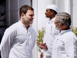 Rahul Gandhi and  Congress Leader C P Joshi