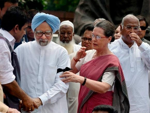 Congress, Sonia Gandhi, BJP, Rahul Gandhi, Manmohan Singh, Sharad Yadav, Parliament house, New DelhiNarendra Modi, Lok Sabha, Sumitra Mahajan