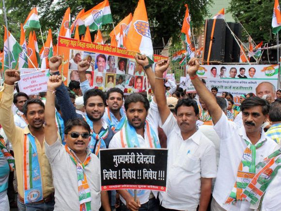 Congress, Devendra Fadnavis, NCP, Shiv Sena, Farmer, Maharashtra, Dhananjay Munde, Ashok Chavan, Pankaja Munde, Chikki Scam, Nagpur, Maharashtra Assembly, BJP