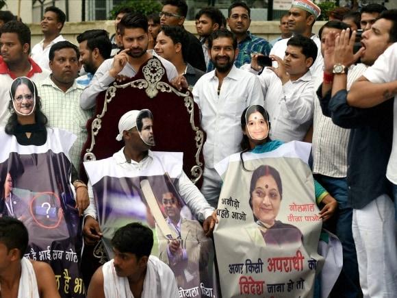 Vyapam scam, Lalitgate, Sushma Swaraj, Shivraj Singh Chouhan, Congress, Narendra Modi, Sonia Gandhi