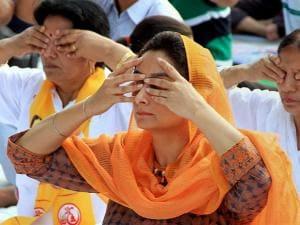 Country celebrates third International Yoga day