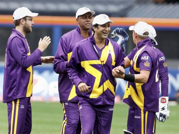 Shane Warne, Wasim Akram, C Walsh, Vettori, Cricket All-Stars, Cricket All-Stars series games, New York