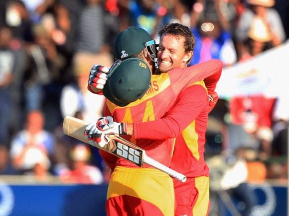 Craig Ervine, Sean Williams, New Zealand, Zimbabwe, Harare