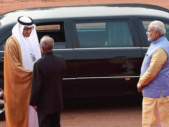 Chief Guest, Sheikh Mohammed bin Zayed Al Nahyan, Republic Day, Abu Dhabi, Crown Prince