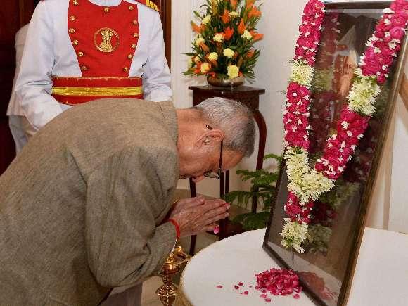 President, Pranab Mukherjee, Rabindra Jayanti, Rashtrapati Bhavan