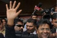 Lalit Modi president of the Rajasthan Cricket Association
