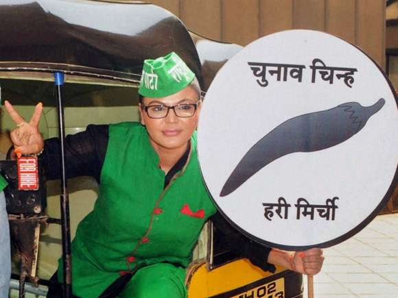 Rashtriya Aam Party, Rakhi Sawant