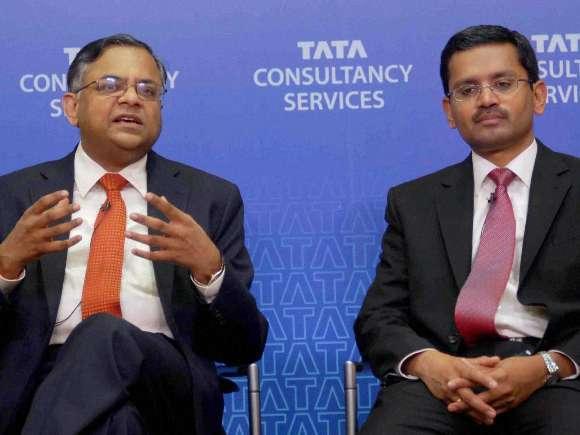 N Chandrasekaran, TCS, Rajesh Gopinathan, Mitsubishi Corp