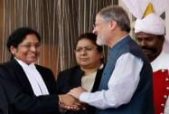 Gorla Rohini sworn in as first woman chief justice of Delhi HC