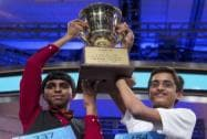 Co-champions of the Scripps National Spelling Bee