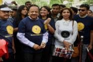 Harsh Vardhan flags off World No Tobacco Day rally