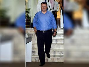 Ousted Tata Sons Chairman, Cyrus Mistry leaves after a meeting