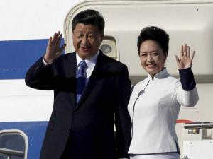 Chinese President Xi Jinping and his wife Peng Liyuan
