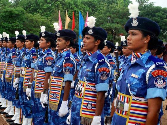 Rapid Action Force, Phaphamau, Women RAF cadets
