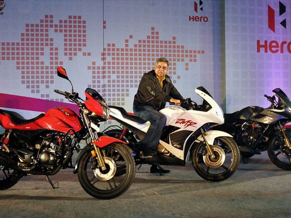 Pawan Munjal, MD & CEO Hero MotoCorp Ltd, Hero two-wheelers