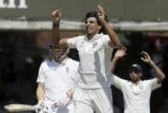 India's Ishant Sharma appeals unsuccessfully during the second day of the second test match
