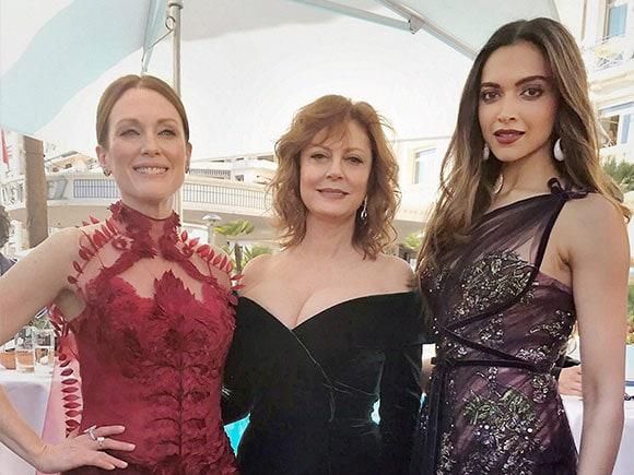 Cannes Film Festival, Deepika Padukone, Julianne Moore, Susan Sarandon