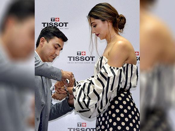 Deepika Padukone, Tissot watch, Deepika Padukone vanity fair