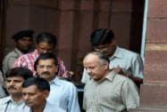 Delhi CM Kejriwal, Sisodia met Arun Jaitley