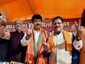 BJP posted  a huge victory in the MCD elections, in New Delhi