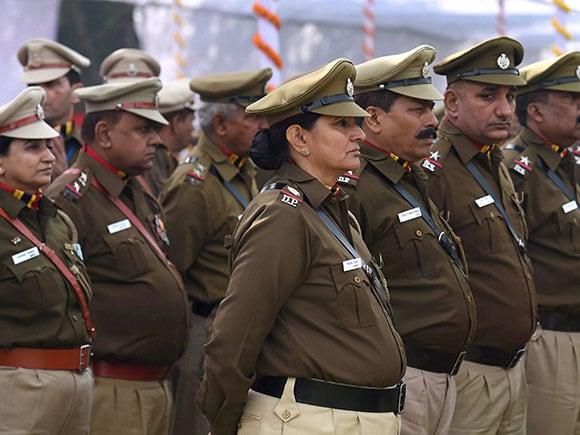 Delhi Police, Raising Day Parade 2017, Hansraj Gangaram Ahir, Police