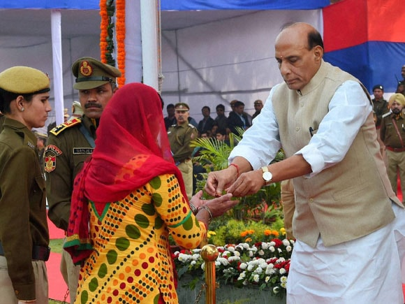 Union Home Minister of India,  Rajnath Singh, Delhi Police,  Parade, Raising Day