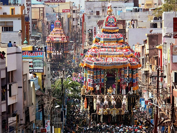 Chithirai festival, Meenakshi Amman Temple, Madurai