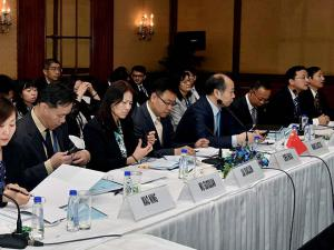 A Chinese delegation participates in the 3rd Bangladesh-China-India-Myanmar Economic Corridor Joint Study Group Meeting