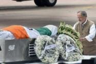 Paying last respects to Abdul Kalam