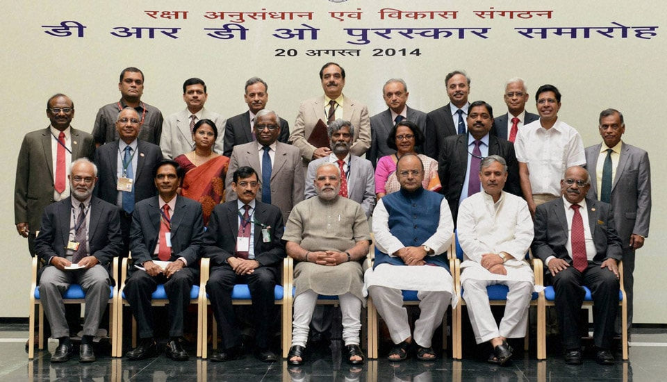 Prime Minister, Narendra Modi, Defence Minister, Arun Jaitley, MoS Rao Inderjit Singh, awardees, DRDO, Awards 2013 function