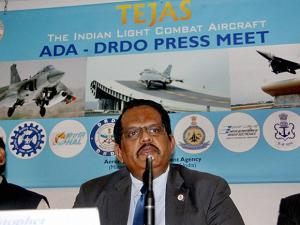DRDO Chairman S Christopher addresses a press conference