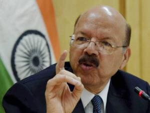 Chief Election Commissioner Nasim Zaidi
