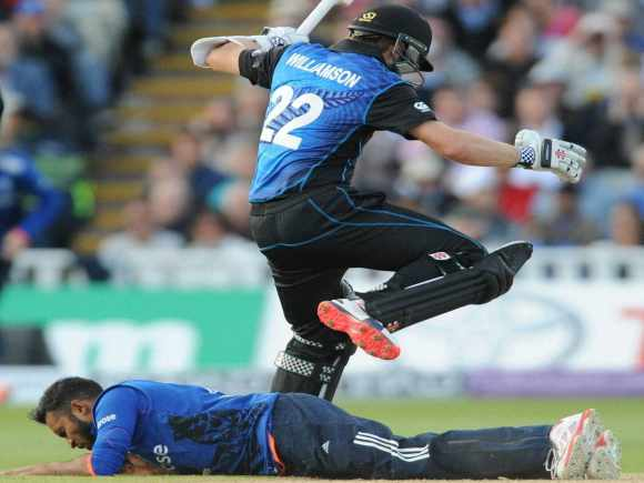 Kane Williamson, Adil Rashid, England, New Zealand, ODI, Birmingham