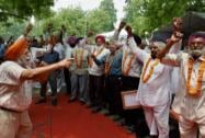 Ex-Servicemen Begin Protest at Jantar Mantar