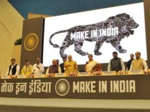Narendra Modi launches Make in India