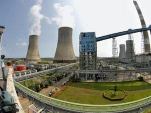 Rawatbhata atomic power station in Rajasthan.