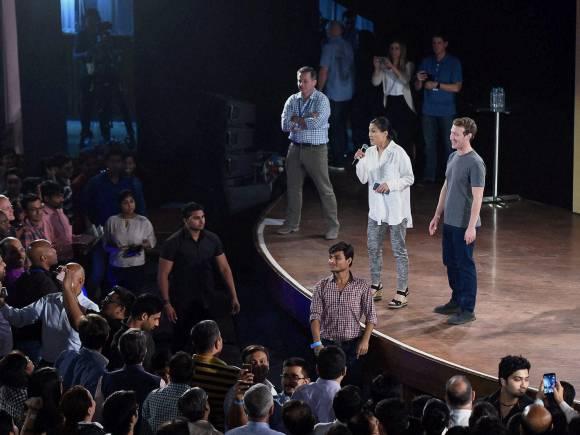 Facebook, Mark Zuckerberg, Facebook CEO, Internet.org, Townhall Q&A