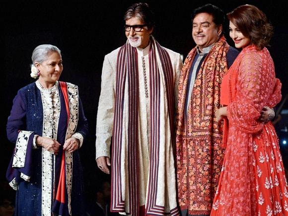 Fashion Show, Amitabh Bachchan, Sonakshi Sinha, Jaya Bachchan, Shatrughan Sinha