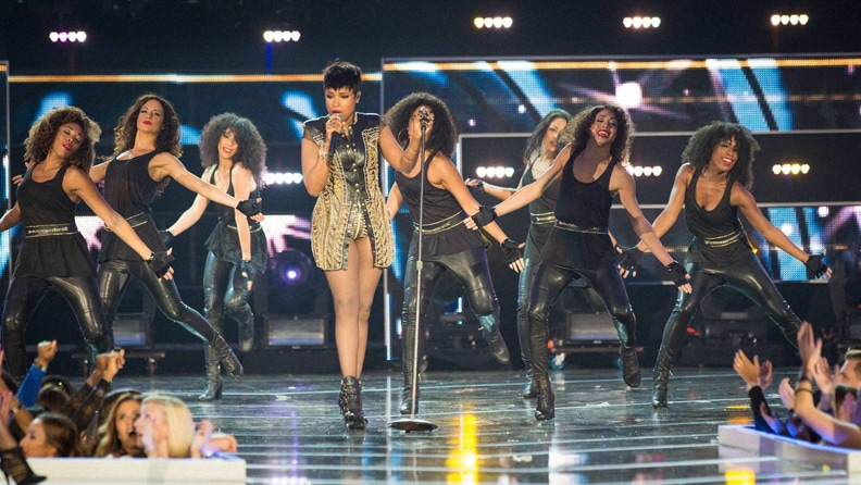 Jennifer Hudson, performs, fashion Rocks