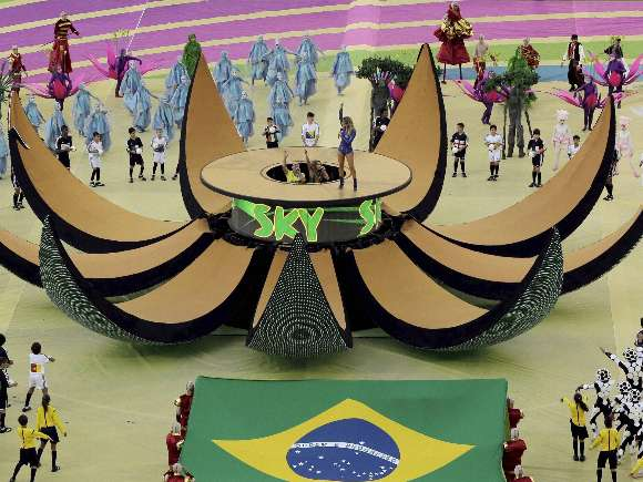 World Cup, Claudia Leitte, Pitbull, Jennifer Lopez, Itaquerao