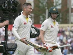 Michael Clarke and Steven Smith