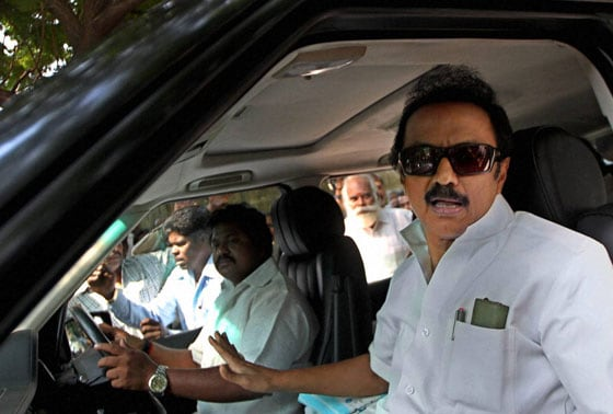 DMK Treasurer MK Stalin