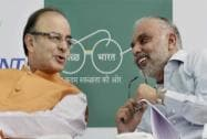 "Finance Minister Arun Jaitley at the launch of ""Be the Change"""